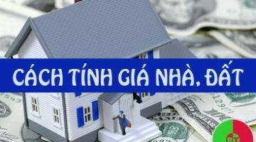 cách tính giá nhà đất