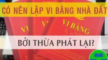 co nen lap vi bang nha dat