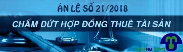 an le so 21 hop dong thue tai san