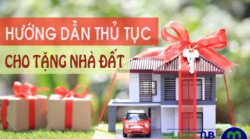 thu tuc cho tang nha dat Ha Noi