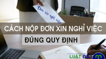 Cach xin nghi viec dung