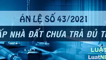 an le so 43 tai san the chap